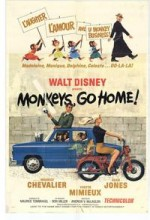 Monkeys, Go Home! (1967) afişi