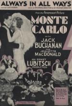 Monte Carlo (1930) afişi