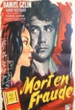 Mort En Fraude (1957) afişi
