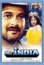Mr ındia (1987) afişi