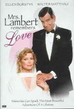 Mrs. Lambert Remembers Love (1991) afişi