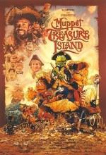 Muppet Treasure Island (1996) afişi