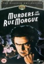 Murders in The Rue Morgue (1932) afişi