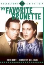 My Favorite Brunette (1947) afişi