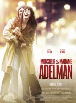 M. & Mme Adelman (2017) afişi