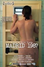 Madrid 1987 (2011) afişi