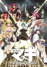 Magi - The Kingdom of Magic (2013) afişi