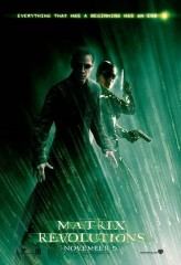 The Matrix Revolutions (2003) afişi