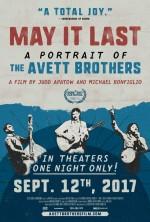 May It Last: A Portrait of the Avett Brothers (2017) afişi