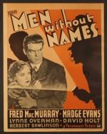 Men Without Names (1935) afişi