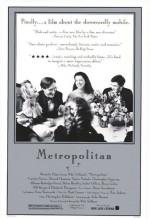 Metropolitan (1990) afişi