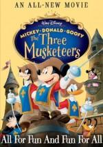 Mickey, Donald, Goofy: Üç Silahşörler