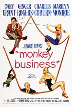 Monkey Business (1952) afişi