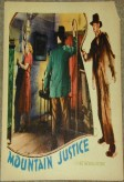 Mountain Justice (1930) afişi