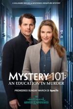 Mystery 101: An Education in Murder (2020) afişi
