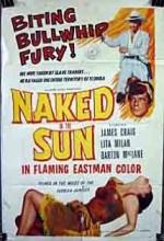 Naked In The Sun (1957) afişi