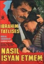 Nasıl İsyan Etmem (1982) afişi