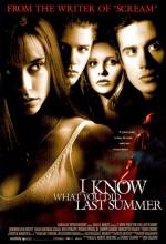 Ne Yaptığını Biliyorum (1997) afişi