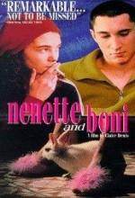 Nenette And Boni (1996) afişi