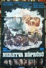 Neretva Köprüsü (1969) afişi
