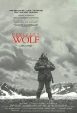 Never Cry Wolf (1983) afişi