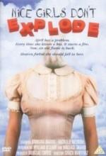 Nice Girls Don't Explode (1987) afişi