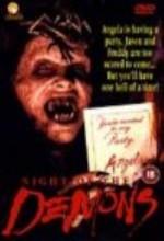 Night of the Demons (1988) afişi