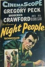 Night People (1954) afişi