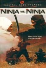 Ninja Vs. Ninja (1987) afişi