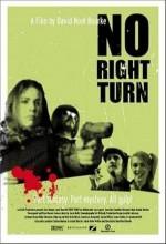 No Right Turn (2009) afişi