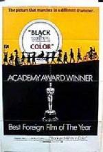 Noirs Et Blancs En Couleur (1976) afişi
