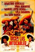 Nos Dicen Los Intocables (1964) afişi