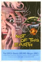 Not Of This Earth (1957) afişi