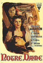 Notre Dame'ın Kamburu (1939) afişi