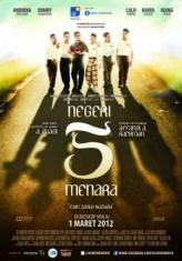 Negeri 5 Menara (2012) afişi