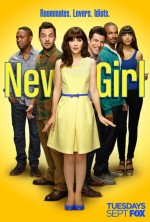 New Girl Sezon 4 (2015) afişi