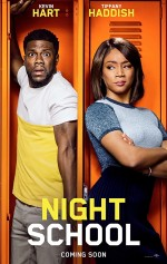 Night School (2018) afişi