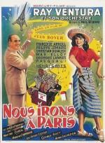 Nous irons à Paris (1950) afişi