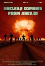 Nuclear Zombies from Area 51 (2016) afişi