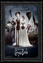 Tim Burton'dan Ölü Gelin (2005) afişi