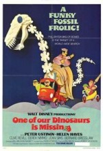One Of Our Dinosaurs is Missing (1975) afişi