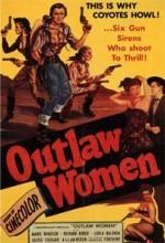 Outlaw Women (1952) afişi