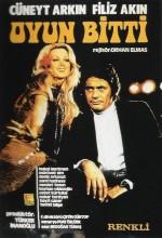 Oyun Bitti (1972) afişi