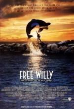 Özgür Willy (1993) afişi