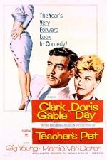Öğretmenin Sevgilisi (1958) afişi