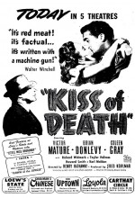 Kiss of Death (1947) afişi