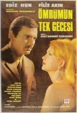 Ömrümün Tek Gecesi (1968) afişi