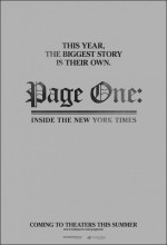 Page One: A Year ınside The New York Times (2011) afişi