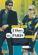 Paris'te 2 Gün (2007) afişi