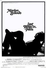 Paris'te Son Tango (1972) afişi